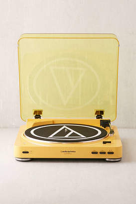 Urban Outfitters Audio-Technica X Mellow Yellow AT-LP60 Bluetooth Record Player