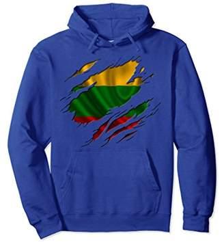 LITHUANIA Shirt Lithuanian Flag Hoodie Travel Gift Souvenir