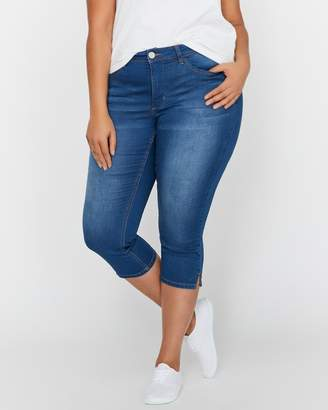 L&L French Terry Cropped Jegging