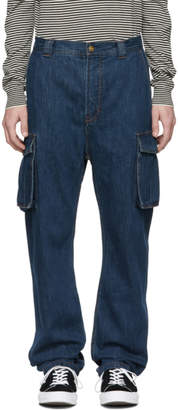 Acne Studios Blue Bla Konst Garco Natural Jeans