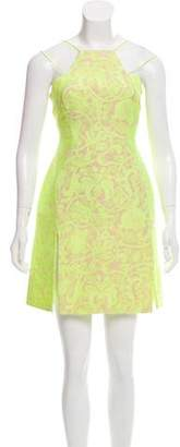 Richard Nicoll Jacquard Mini Dress