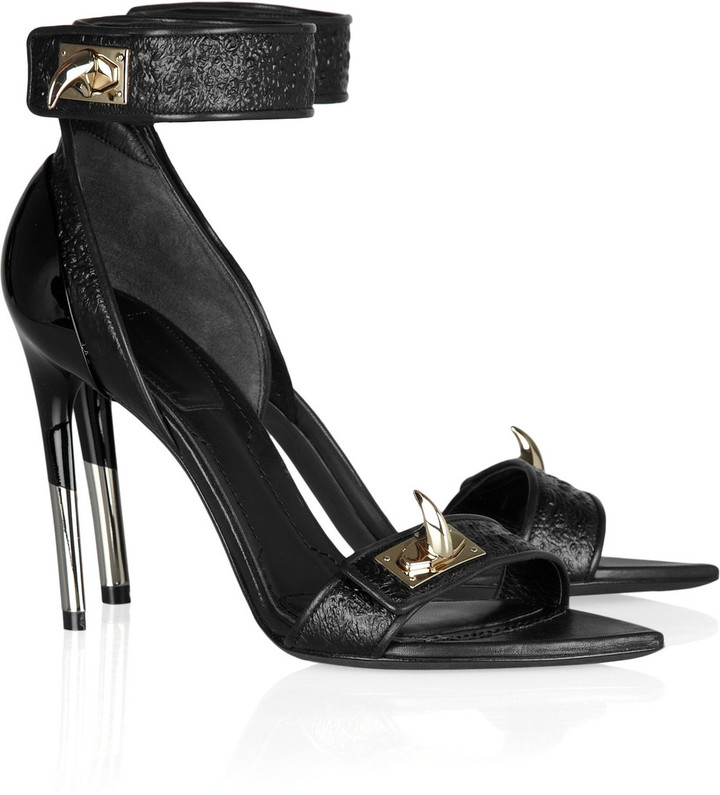 Givenchy Embellished hagfish sandals