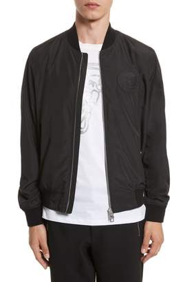 Versace Bomber Jacket with Patch