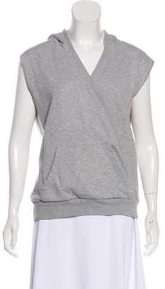Dries Van Noten Hooded Sleeveless Sweatshirt