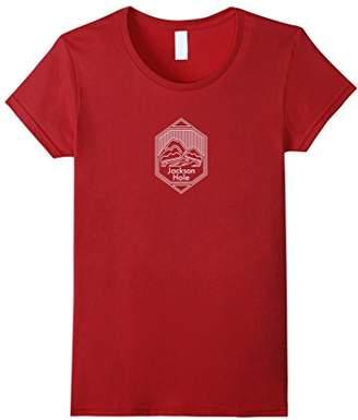 Wyoming Vintage Mountain Highway - Jackson Hole T-Shirt