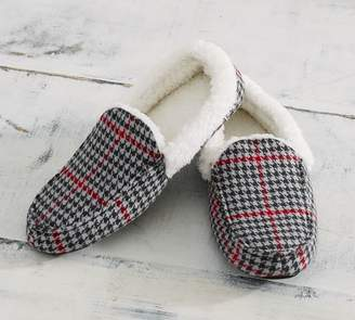 Pottery Barn Randall Plaid Moccasins