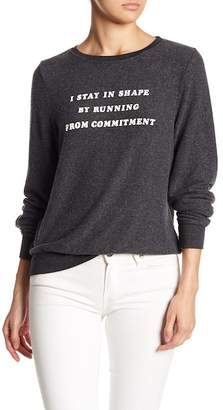 Wildfox Couture Forever Single Baggy Beach Sweater