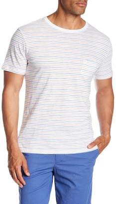 Slate & Stone Stripe Pocket Tee