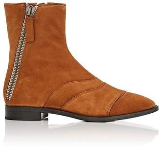 Chloé Women's Double-Zip Suede Ankle Boots