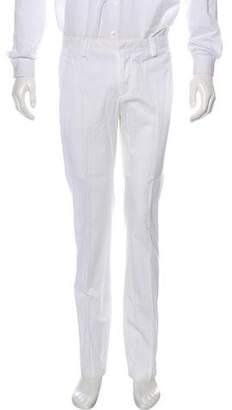 Emporio Armani Flat Front Chino Pants