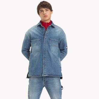 Tommy Hilfiger Stone Washed Denim Overshirt