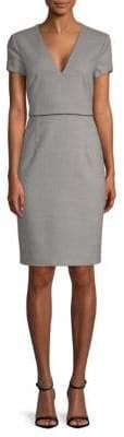 BOSS Doritala Textured Sheath Dress