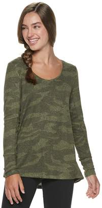 Mudd Juniors' Hatchi Long Sleeve Tunic
