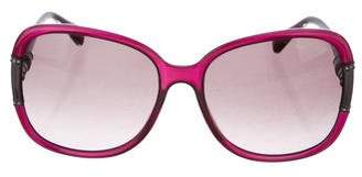 Lanvin Oversize Tinted Sunglasses