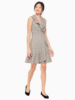 Kate Spade Mod plaid dress