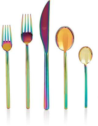 Mepra Due Rainbow 5-Piece Flatware Set