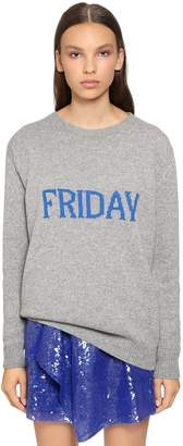 Alberta Ferretti Oversized Friday Wool & Cashmere Sweater