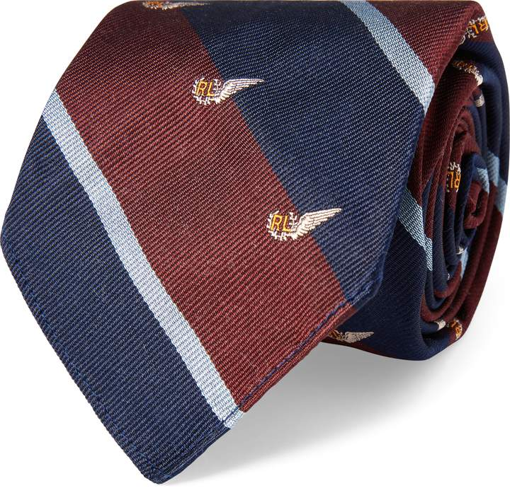 Ralph Lauren Vintage-Inspired Club Tie