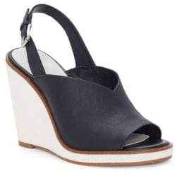 1 STATE 1.STATE Genna Leather Wedge Mules