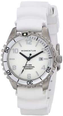 Momentum M1 Mini Stainless Steel Watches for Women - Dive Watch with Japanese Movement & Analog Display- Water Resistant ladies watch with Date -