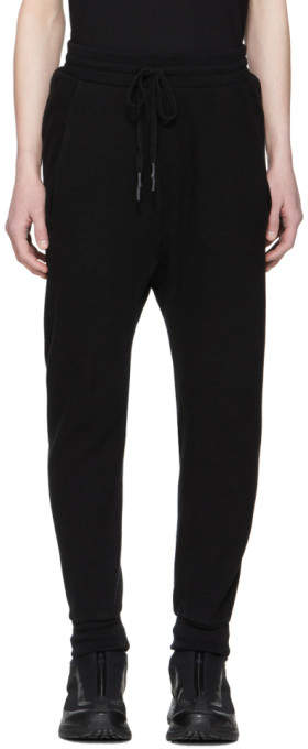 Black Waffle Lounge Pants