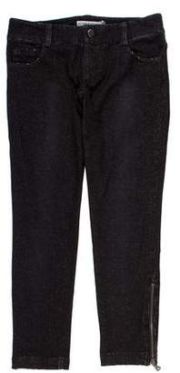 Alice + Olivia Low-Rise Cropped Pants w/ Tags