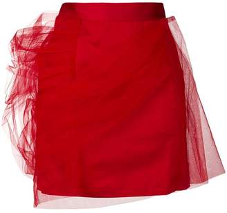 Y/Project Y / Project tulle layered mini skirt