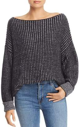 French Connection Original Mozart Chunky Ribbed Knit Sweater