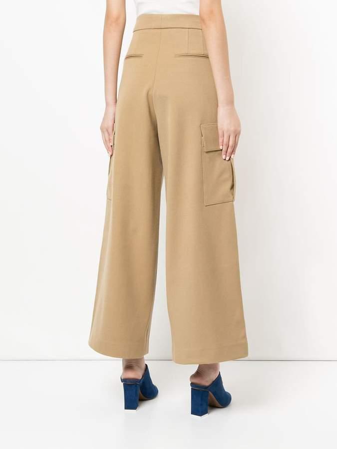 Studio Nicholson wide leg trousers