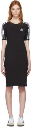 adidas Black 3-Stripe Dress