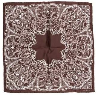 Gucci Silk Print Scarf