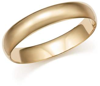 Bloomingdale's Polished Wide Bangle in 14K Yellow Gold - 100% Exclusive