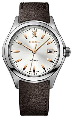 Ebel Mens Analogue Classic Automatic Watch with Stainless Steel Strap 1216331