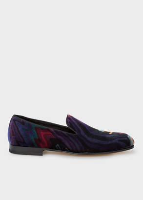Paul Smith Men's Velvet 'Dreamer' Print 'Rudyard' Loafers