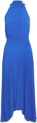 A.L.C. Renzo Pleated Asymmetric Dress