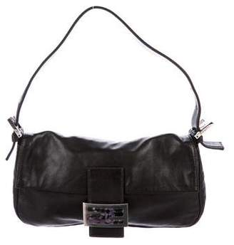 Fendi Smooth Leather Baguette