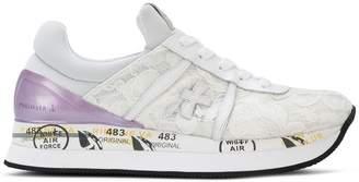 Premiata White Liz sneakers