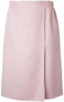 Agnona wrap skirt