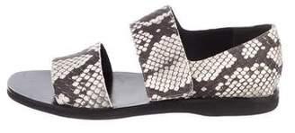 Vince Suede Embossed Sandals