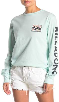 Billabong Flower Logo Long Sleeve T-Shirt