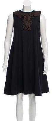Ter Et Bantine Wool Midi Dress