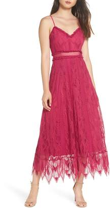 Foxiedox Gloria Lace Midi Dress