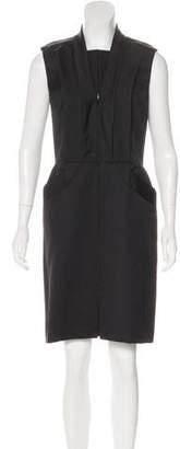 Oscar de la Renta Virgin Wool & Silk Dress w/ Tags