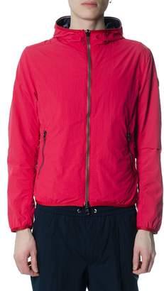 Colmar Black & Red Reversible Down Jacket In Nylon