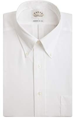 Eagle Men's Non Iron Regular Fit Solid Button Down Collar Dress Shirt