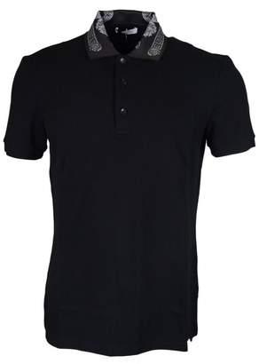 Versace V800543H Cotton/Polyester Polo S