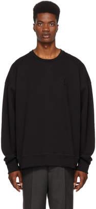 Alexander McQueen Black Logo Sweatshirt