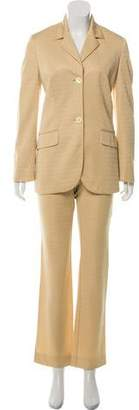 Dolce & Gabbana Patterned Button-Up Pantsuit