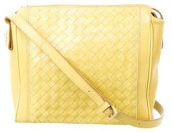 Bottega VenetaBottega Veneta Intrecciato Paneled Crossbody Bag