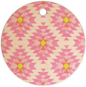 Deny Designs Dash and Ash Coral Cutting Board
